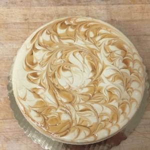 Dulce-de-Leche cheesecake
